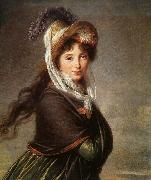 Portrait of a Young Woman et, VIGEE-LEBRUN, Elisabeth